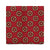 CLASSIC FLORAL HANDPRINTED SILK – RED