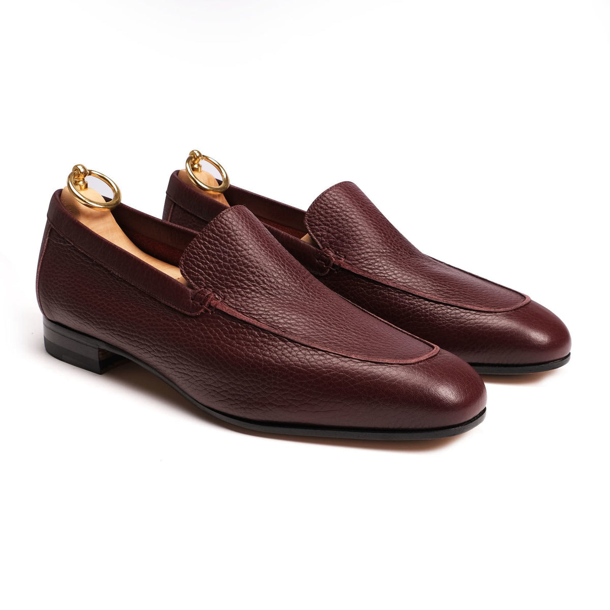 Rivolta loafer unlined plain - Burgundy and Dark Brown Colors