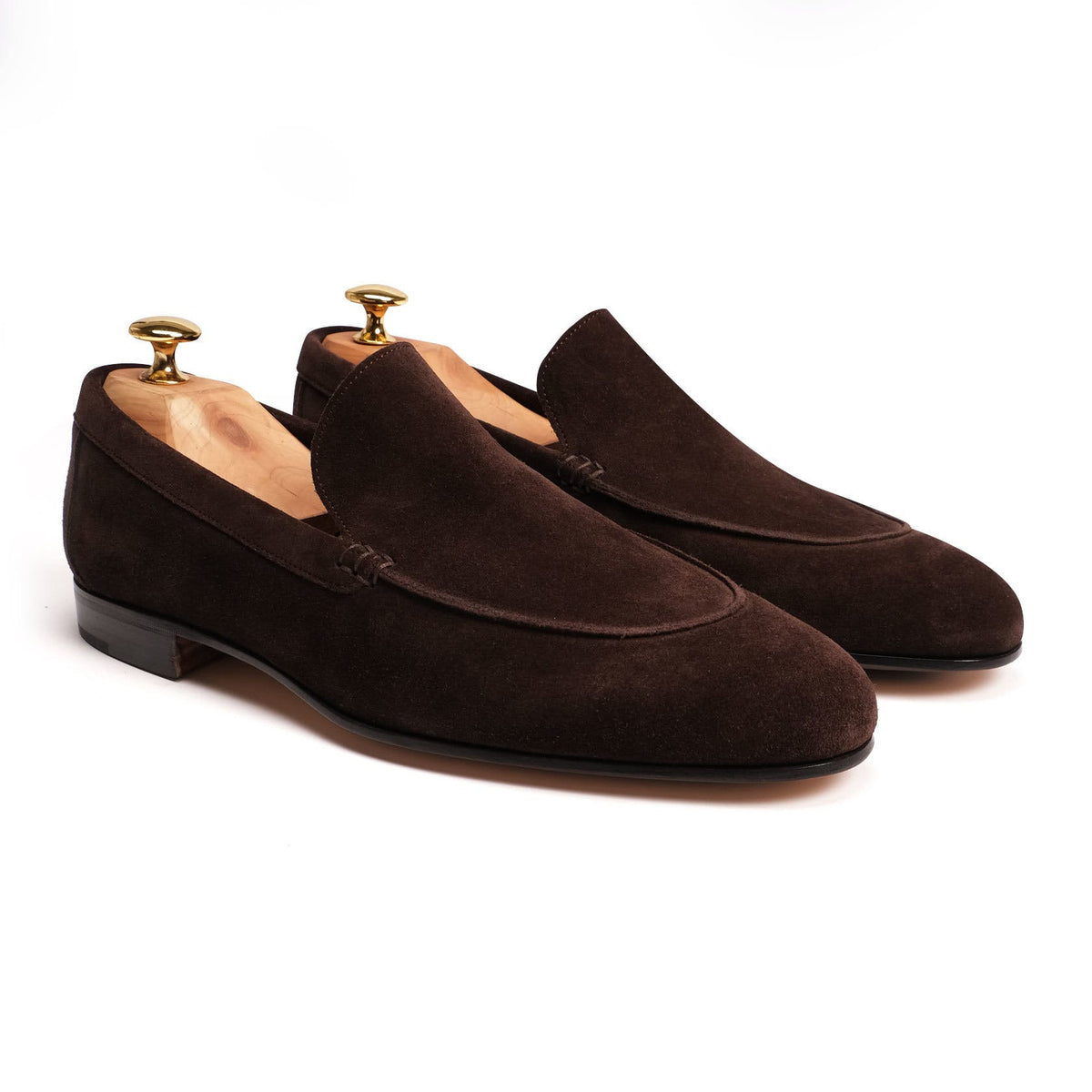 Rivolta Aria Venezia 201 - Chocolate Brown Suede Loafers