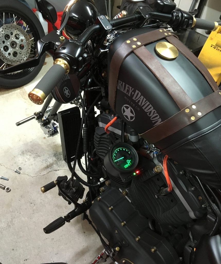 Springer front end on Sportster