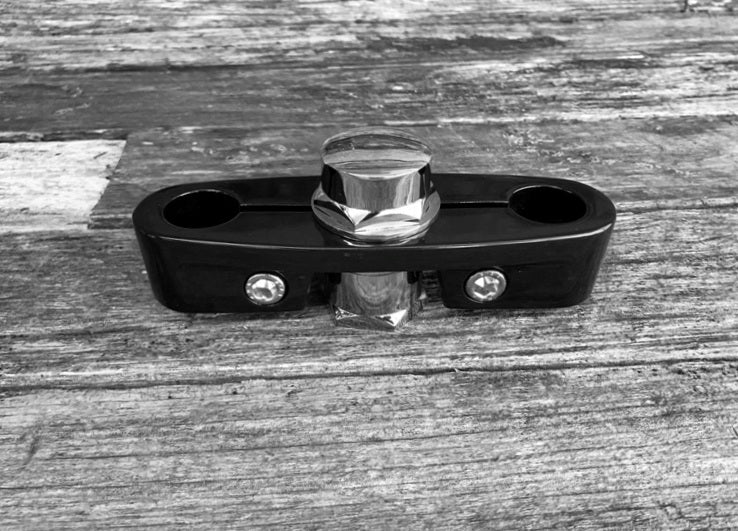 Chrome Head Stem Nut Set