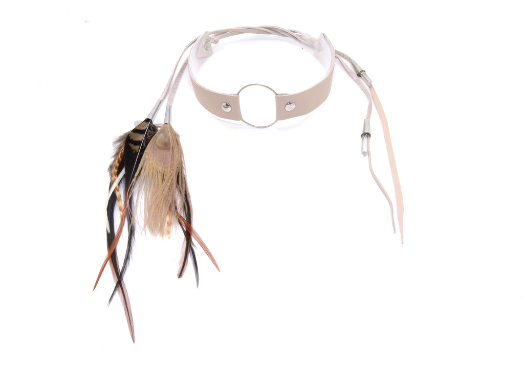 Laihik Choker necklace cream