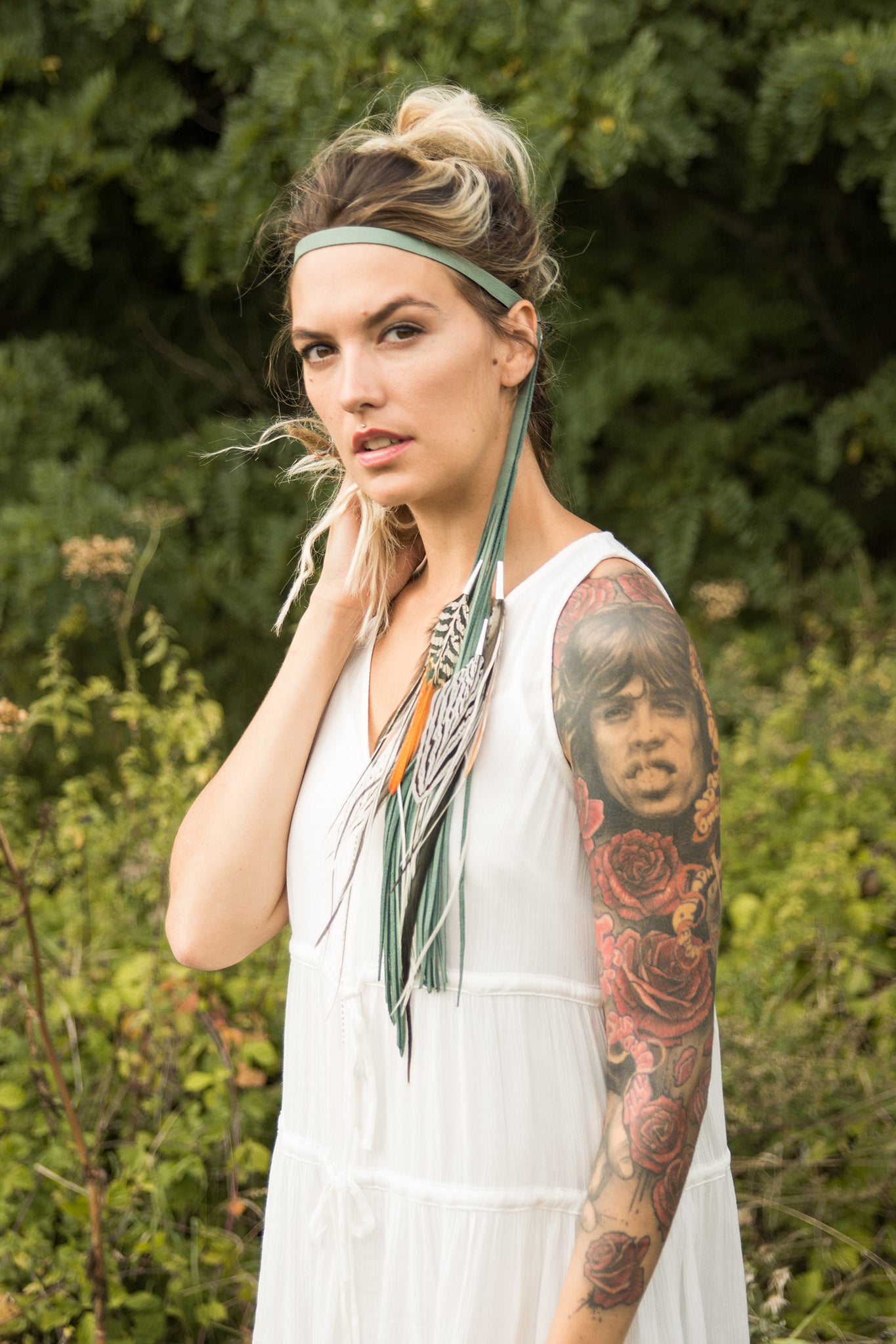 Aureate Ocre Necklace or Headband