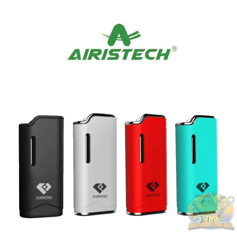 Airistech: Diamond Magnetic Auto Vaporizer Black Concentrate Kit