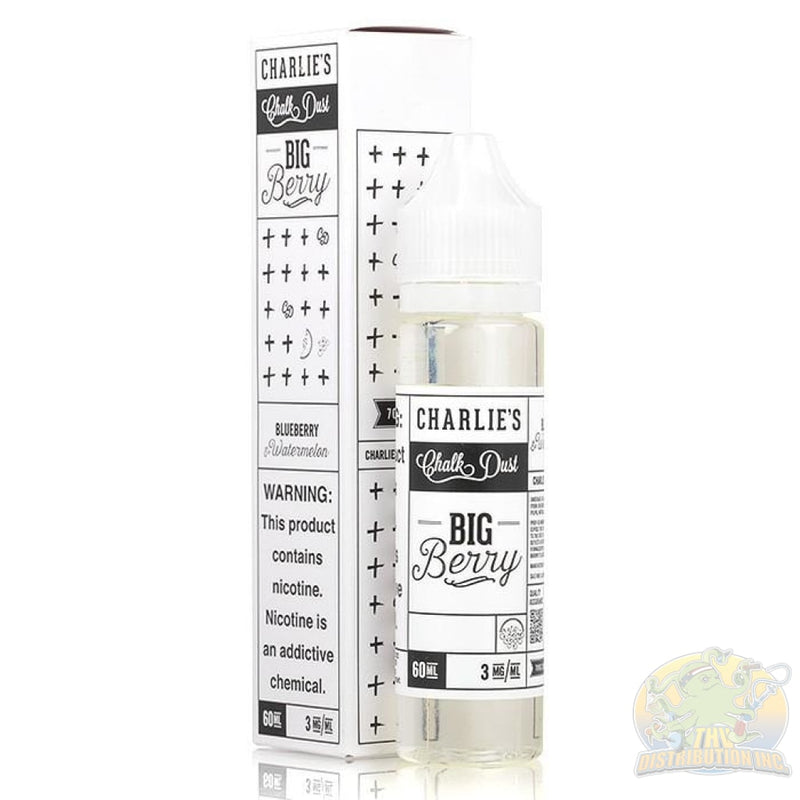 Charlies Chalk Dust: White Label E-Juice (60Ml) Wonder Worm / 0Mg
