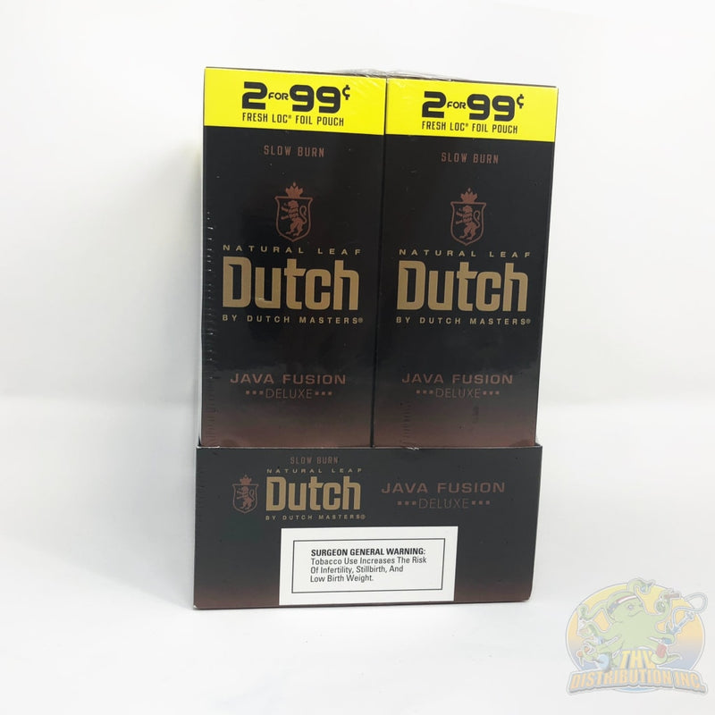 Dutch Masters: Slo-Burn Cigarillos (2-Pack) - 2/$0.99 Bundle Atomic Fusion Cigarillo