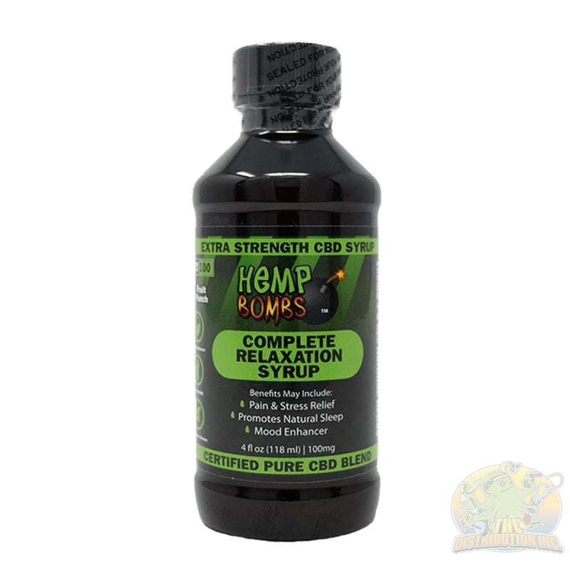 Legal Lean: Premium Relaxation Syrup (1-Count) Grape Cbd Drink