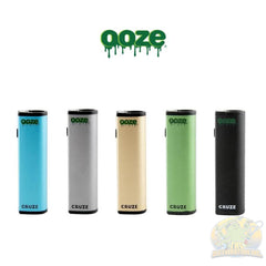 Ooze: Cruze Extract Vaporizer Battery Gold Concentrate Kit