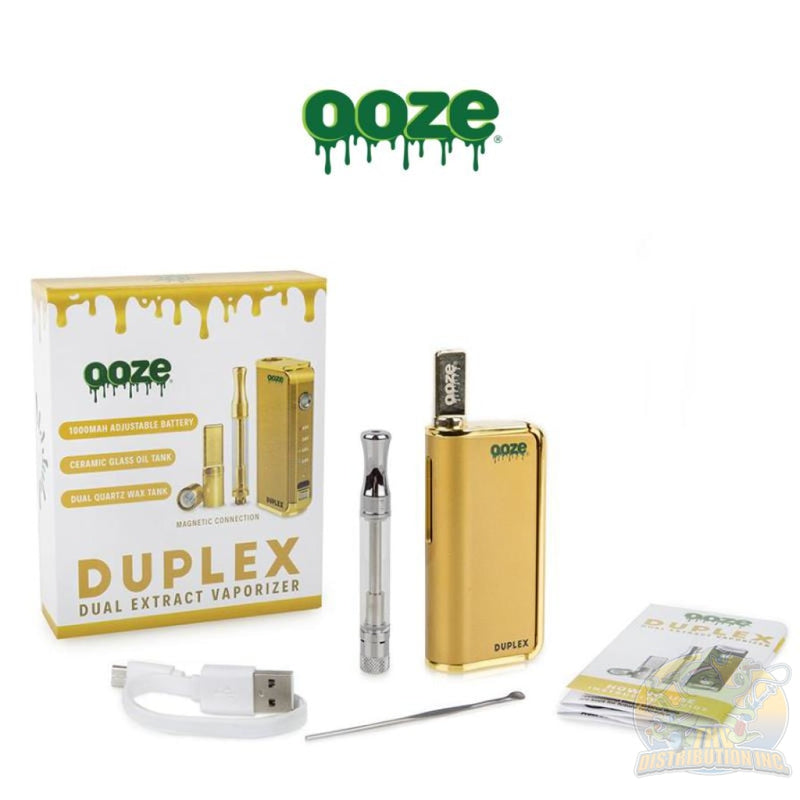 Ooze Duplex Dual Extract Vaporizer Kit Concentrate