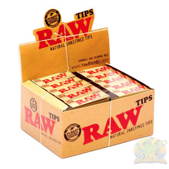 Raw: Tips (50-Count) Rolling Paper