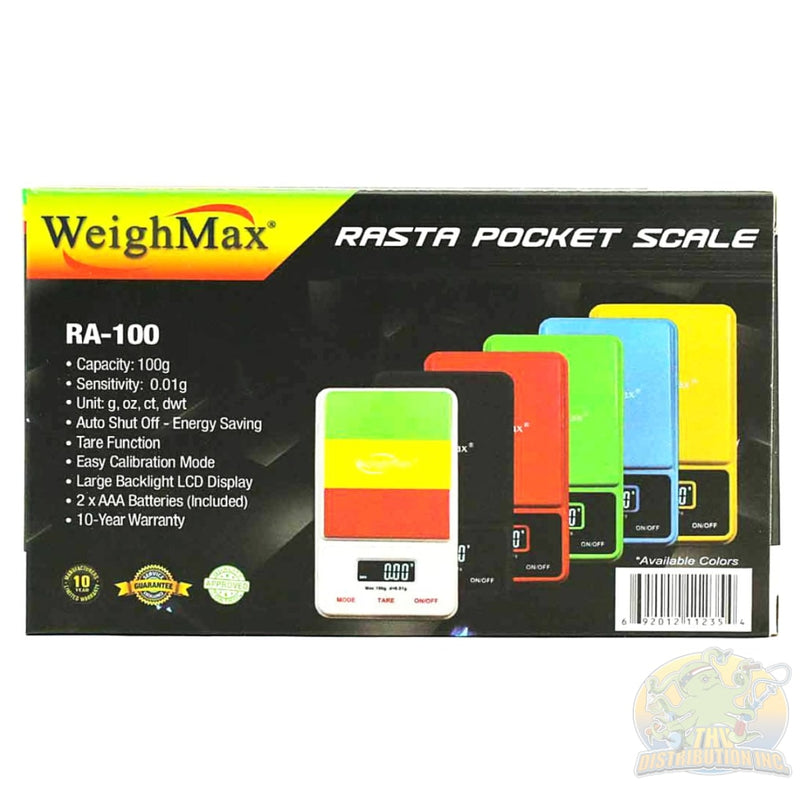 Weightmax: Digital Pocket Scale Ra-100 Scales
