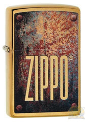 Zippo: Classic Design Windproof Lighter Red Matte (233)