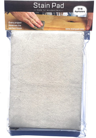 Wood stain applicator pad