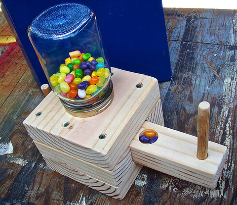 Make a Homemade Candy Dispenser