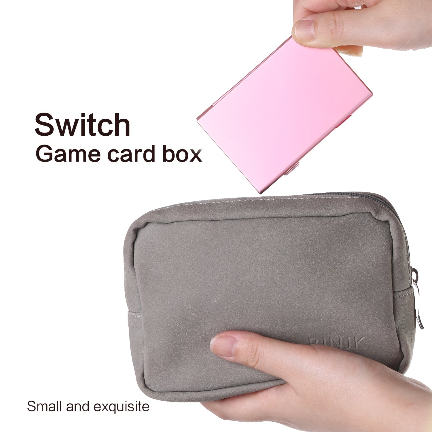 Premium Game Card Case For Nintendo Switch Aluminum Game Cartridge Ho Echzove