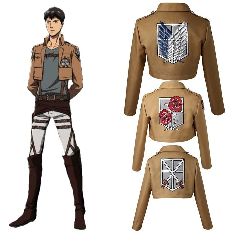 Attack on Titan Cosplay Jacket