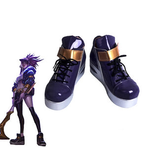 Akali Cosplay Shoes
