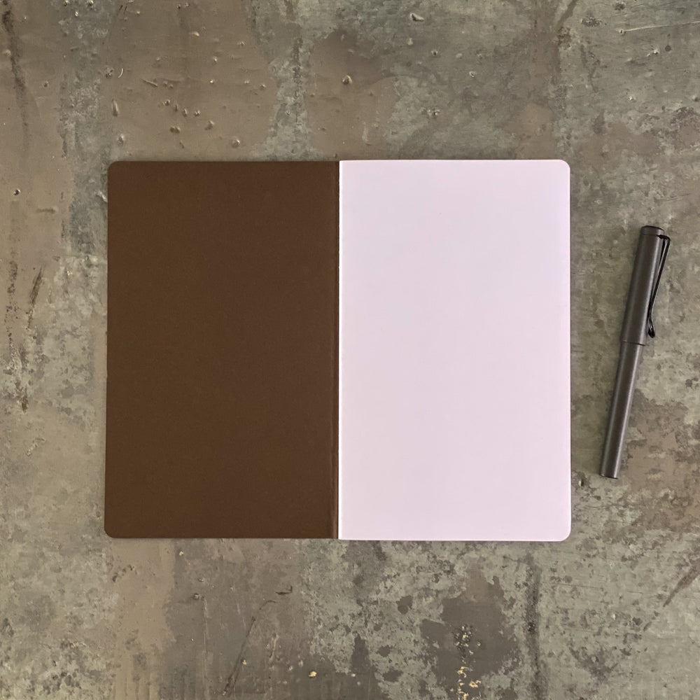3 carnets pages blanches M (21x13 cm)