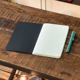 <transcy>1 ivory pages notebook M (21x13 cm)</transcy>