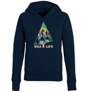 "Hoodies & Sweatshirts - Wild Life ""Winter"" Ladies Hoodie (Bio-Baumwolle)"