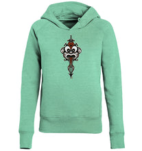 Laden Sie das Bild in den Galerie-Viewer, Hoodies & Sweatshirts - Polynasian Warrior Ladies Hoodie (Bio-Baumwolle)
