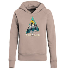 "Laden Sie das Bild in den Galerie-Viewer, Hoodies & Sweatshirts - Wild Life ""Winter"" Ladies Hoodie (Bio-Baumwolle)"