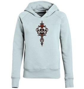 Hoodies & Sweatshirts - Polynasian Warrior Ladies Hoodie (Bio-Baumwolle)