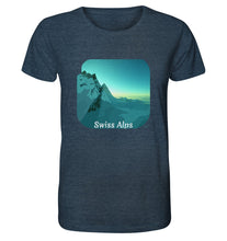 Laden Sie das Bild in den Galerie-Viewer, Unisex-Shirts - Swiss Alps Shirt (Bio-Baumwolle)