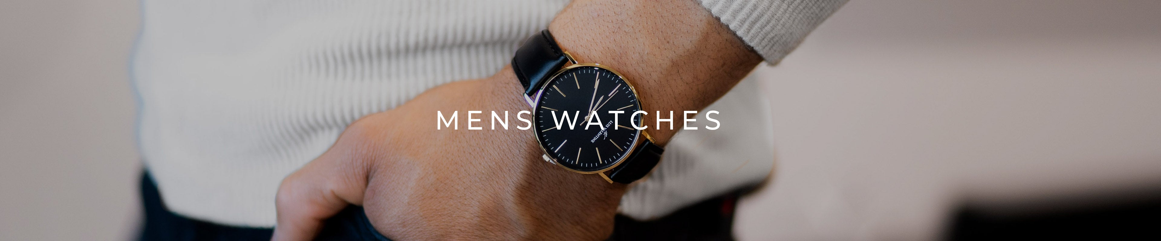 Classy mens watches.