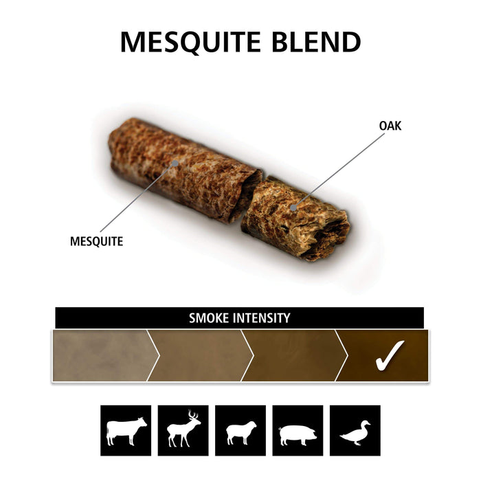 Broil King Mesquite Blend (Mesquite, Oak) Pellets 20 lb Resealable Bag