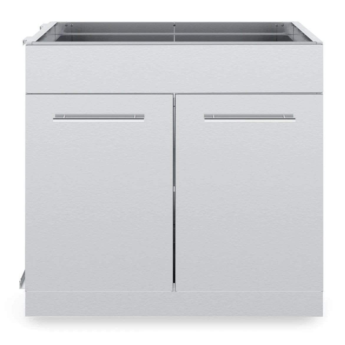 Broil King Stainless Steel 2 Door Cabinet Outdoor Kitchen System 804200