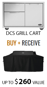 "DCS Grill Cart (36"") + FREE Cover"