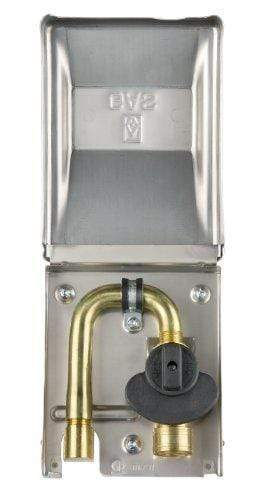 "Gas Outlet Box Grey w/ 3/8"" valve & quick connect"