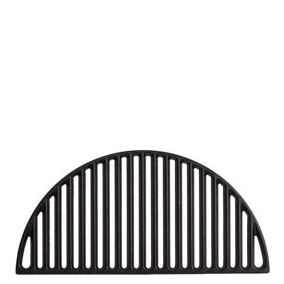 Kamado Joe-big Joe 1/2 Moon Cast Iron Grill