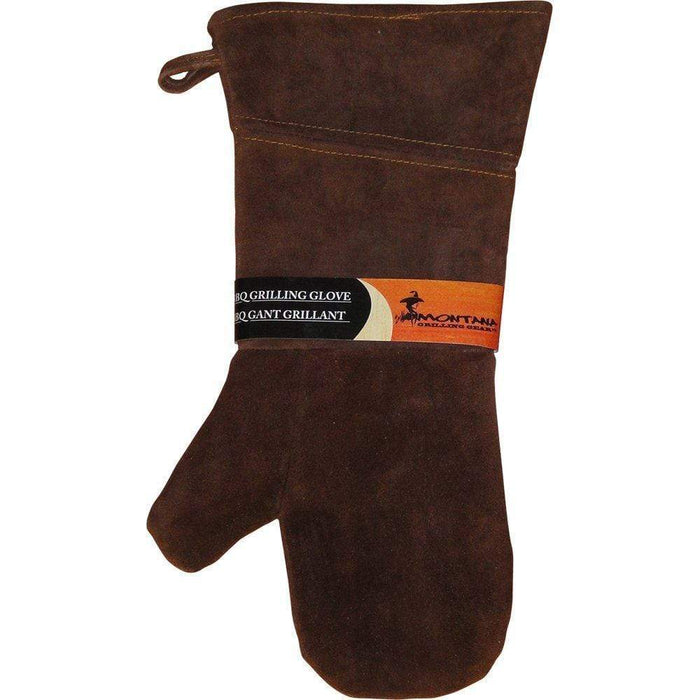 Montana Grilling Gear Suede and Leather Grill Glove - 10.375-Inch - LGG-16L