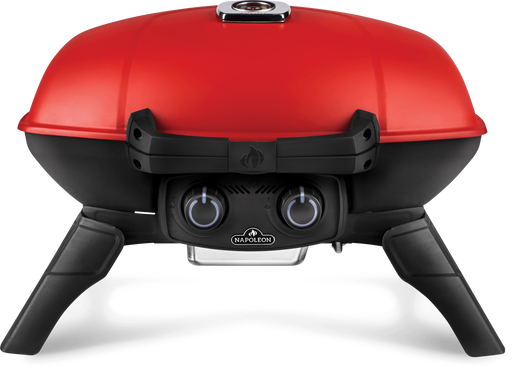 Napoleon TravelQ 285 (Red) Portable Propane BBQ with Griddle TQ285-BL-1 Propane / Red TQ285-RD-1-A