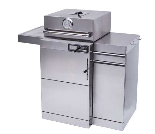 Pacific Cooker - Stainless Steel Kamado Charcoal Grill Free Standing Model - PCSTANDALONE