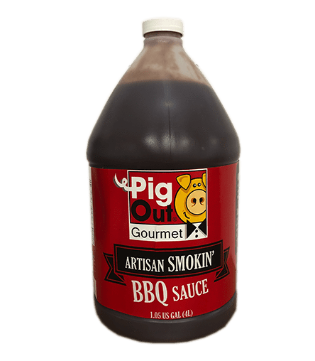 Pig Out Smokin' BBQ Sauce - 4 litres ( Available Spring 2021)