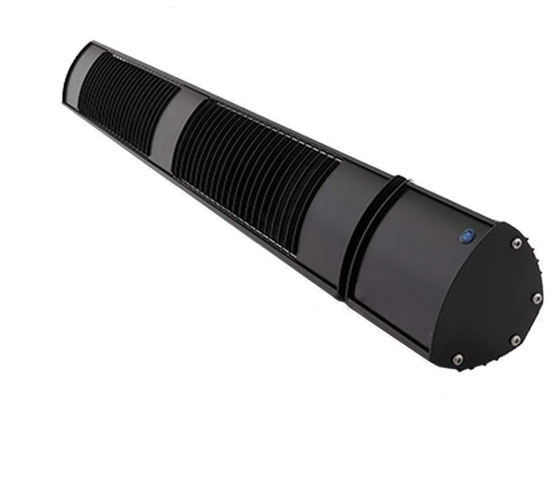 SOLAIRA ZIRO 1,600W, 240V NO LIGHT ELECTRIC RADIANT INFRARED ZONE AND PATIO HEATER -BLACK