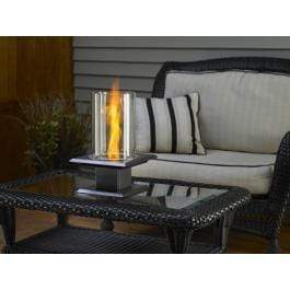 TOG Fire pit Swirl Flame Gel tabletop - Silver Vein