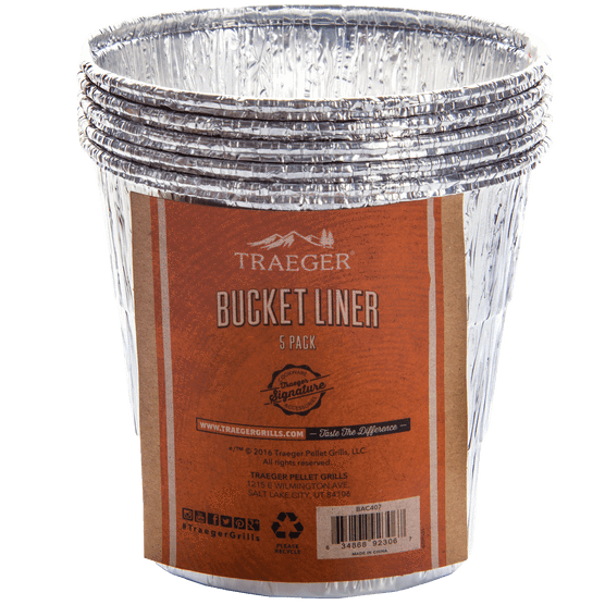 Traeger Bucket Liner - 5 Pack