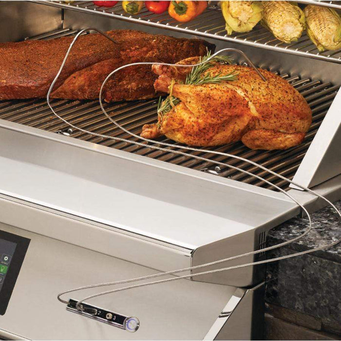 Twin Eagles Wi-Fi Controlled 36-Inch Built-In Stainless Steel Pellet Grill and Smoker with Rotisserie - TEPG36R