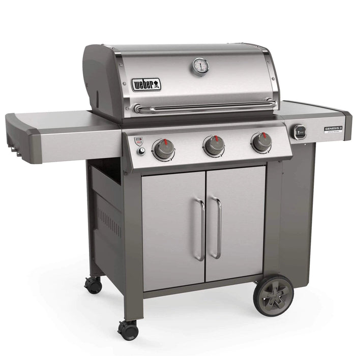 Weber Genesis II CSS-315 BBQ with iGrill 3 and Stainless Steel Cooking Grill Grates