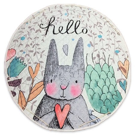 Carry-bag Play Mat - Hello Rabbit