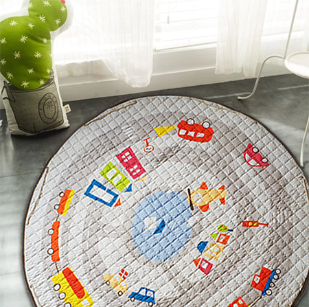 Carry-bag Play Mat - Cars