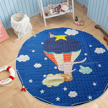 Carry-bag Play mat - Flying Elephant