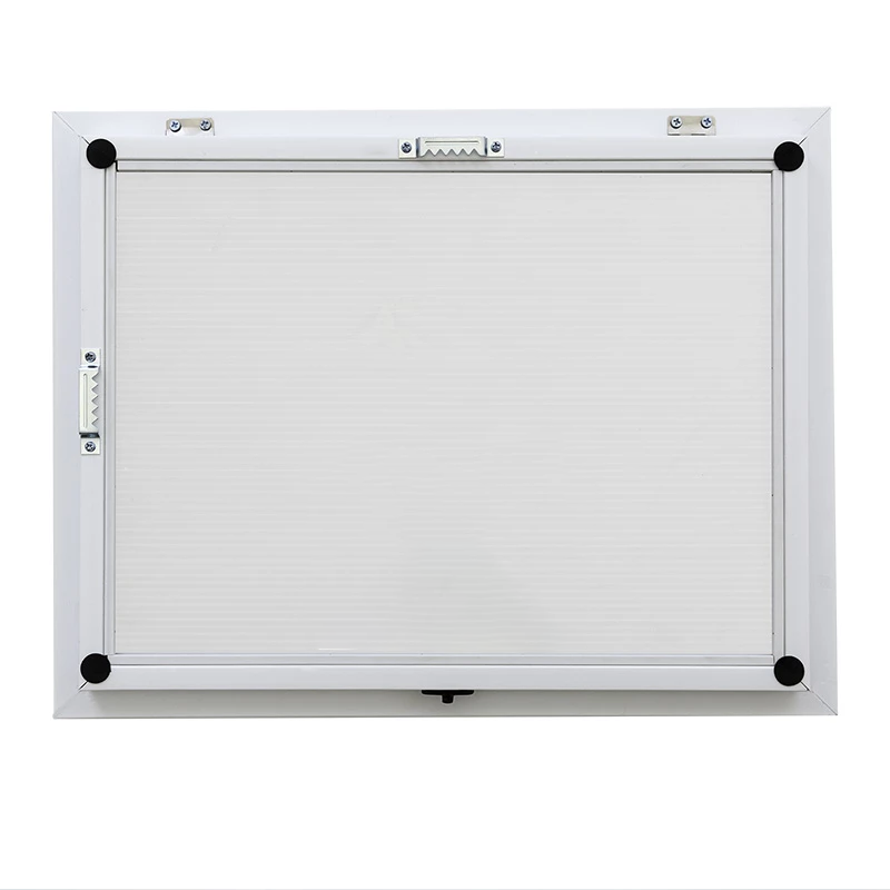 Front Opening Picture Frame with a Magnetic Whiteboard inside- White