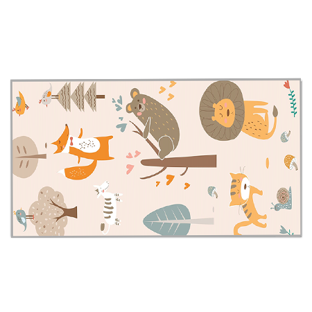 Reversible Play Mat - Mosaic wilderness