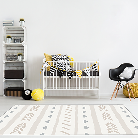 Reversible Play Mat - Nordic Chicks
