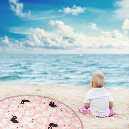 Multi-use Play mat - Swan